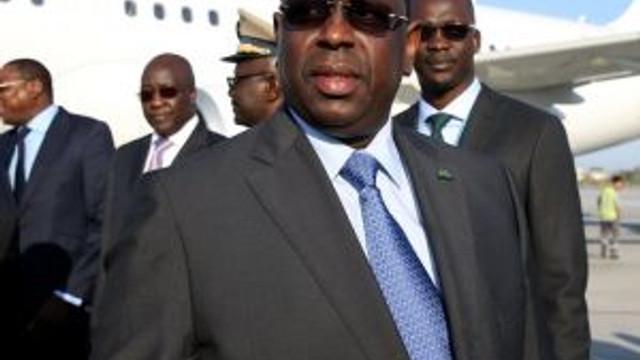Senegal Devlet Başkanı Sall, İstanbul'a Geldi