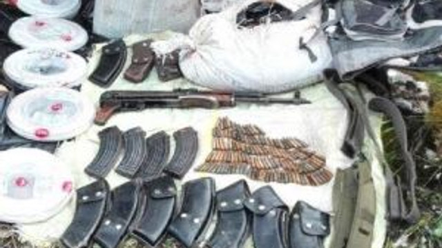 Hizan'da Pkk'ya Ait 9 Sığınak Ele Geçirildi