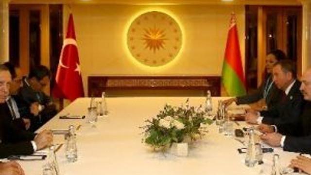 Cumhurbaşkanı Erdoğan, Belarus Cumhurbaşkanı Lukashenko'yu Kabul Etti