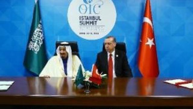 Suudi-türk Koordinasyon Kurulu İmzaları Atıldı