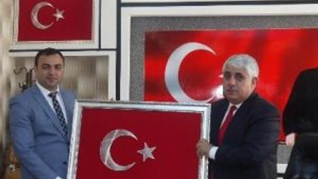 Oran Kalkınma Ajansından Belediye Başkanı Ahmet Şimşek'e Ziyaret