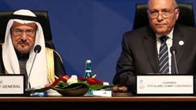 Mısır Dışişleri Bakanı mesajı okuyup gitti !