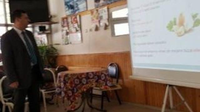 Başkan Yalçın, Genç Çiftçilere Hibe Bilgilendirme Toplantısına Katıldı