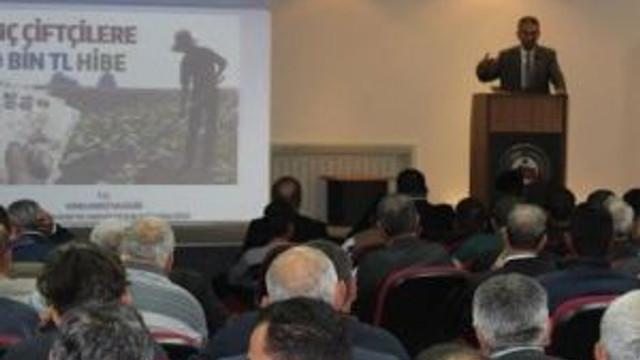 Genç Çiftçi Projelerinin Desteklenmesi Toplantısı