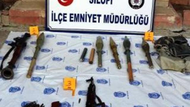 Silopi'de Pkk'nın Silah Ve Bombaları Ele Geçildi