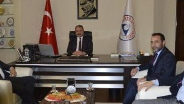 Müsiad Kayseri Şubesi Rektör Güven'i Ziyaret Etti