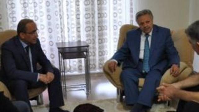 Vali Kahraman'dan Özel Harekât Şube Müdürü Beder'e Geçmiş Olsun Ziyareti