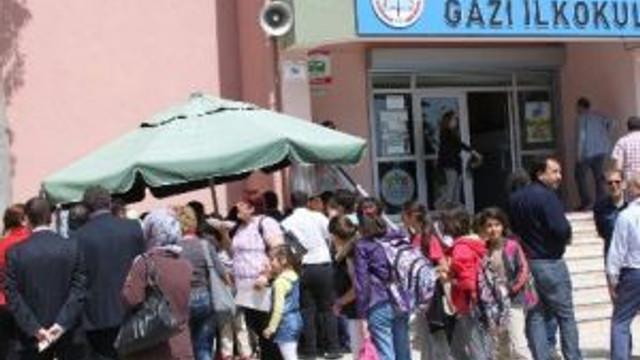 Didim Gazi Ortaokulu'nda Keşkek Gününe Yoğun İlgi