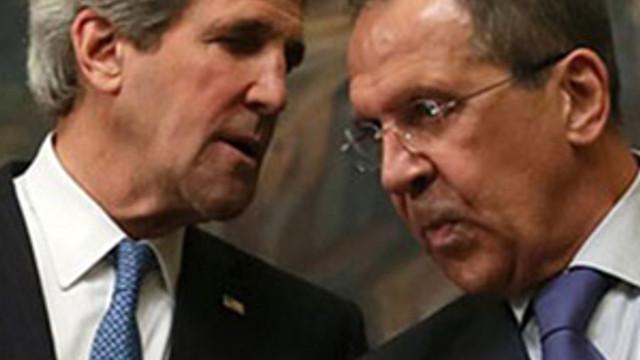 Lavrov ve Kerry'den kritik telefon görüşmesi !