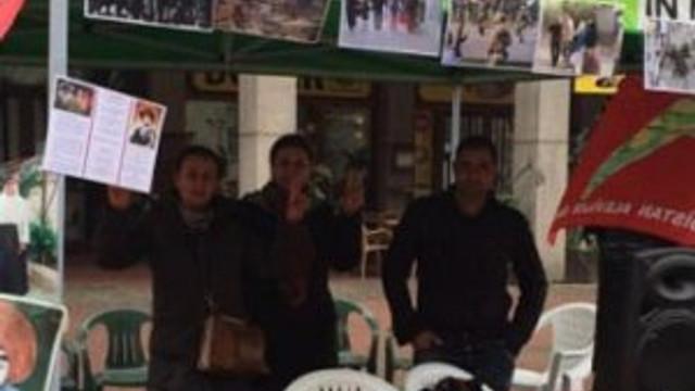 Oraya da PKK çadırı kurdular !
