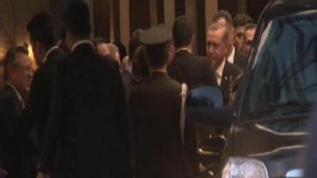 Nikah şahitleri Erdoğan oldu