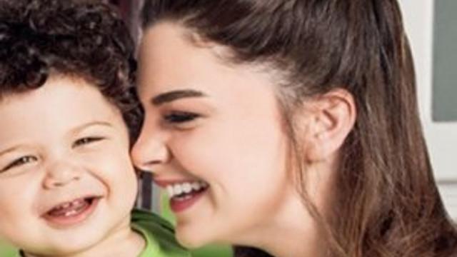 Pelin Karahan ve oğlu reklamdan servet kazandı