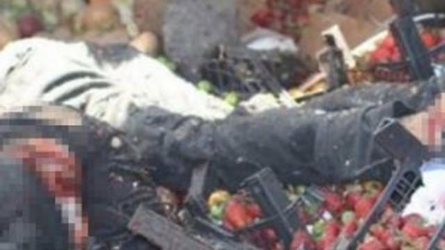 Suriye uçağı pazar yerini vurdu !