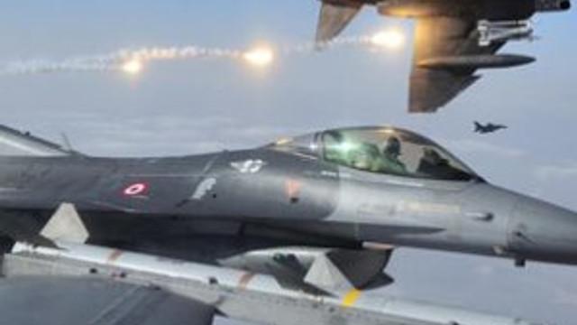 TSK'DAN FLAŞ AÇIKLAMA: 10 ADET F16 VURDU !