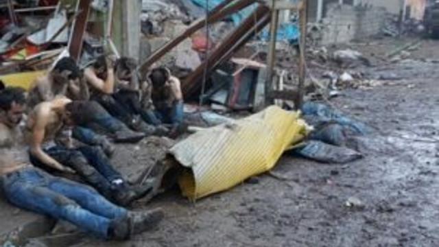 Yüksekova'da kalabalık PKK'lı grubu teslim oldu