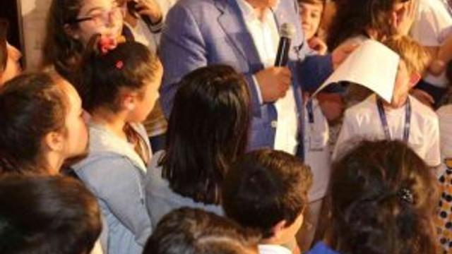 Çocuk meclisi Sarıyer'de kuruldu