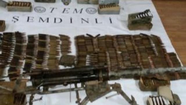 PKK'ya operasyon: Ağır silahlar ele geçirildi