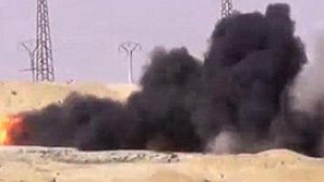 IŞİD'in kamyoneti vuruldu !