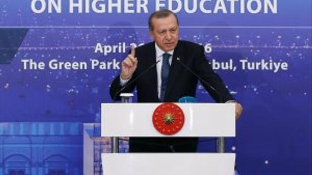 """Erdoğan sitem etti: """"Bu ne menem iştir"""""""