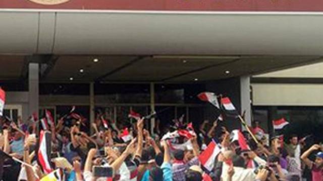 Irak'ta Meclis'i bastılar !