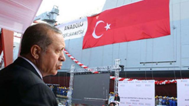 Erdoğan amfibi hücum gemisinin bitiş tarihini öne çekti !