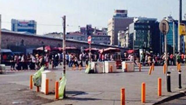 Gezi Parkı'nda bomba alarmı