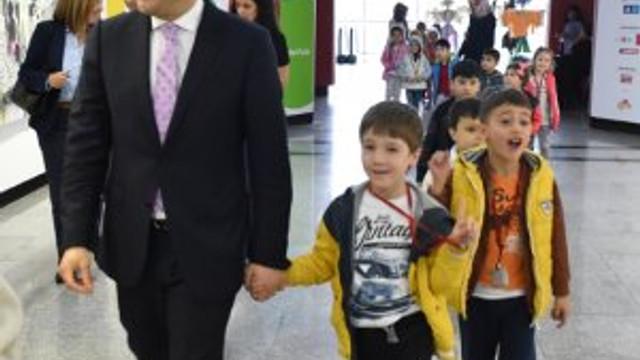 Beşiktaş Belediyesi'nden çocuk haftasına özel bianel
