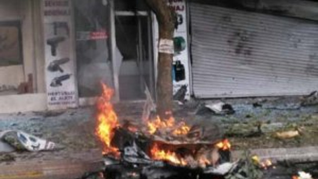 İşte İstanbul Sancaktepe'deki patlama anı !