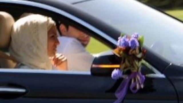Erdoğan kızının nikahına helikopterle geldi !