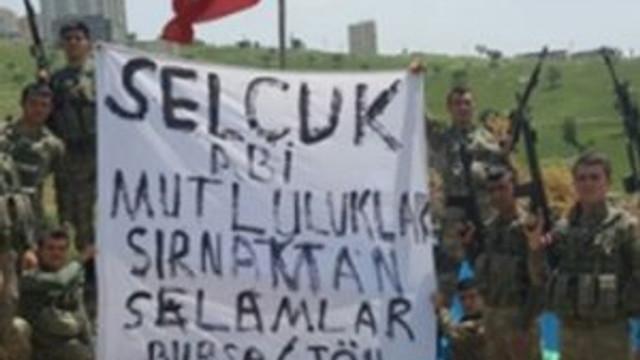 Erdoğan'ın damadına askerlerden özel tebrik !