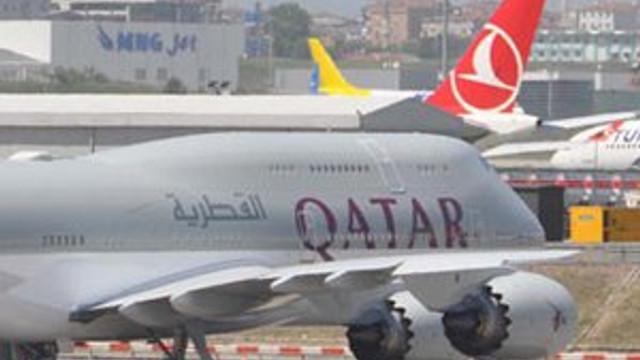 Dev uçak Katar'dan Sümeyye için geldi !