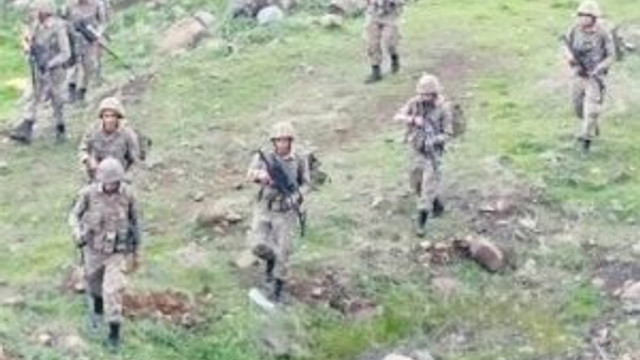 Kars'ta 4 terörist öldürüldü !