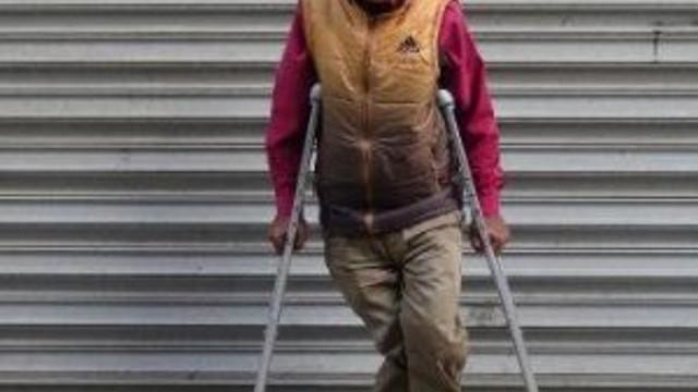 Engelli kişiden büyük fedakarlık !