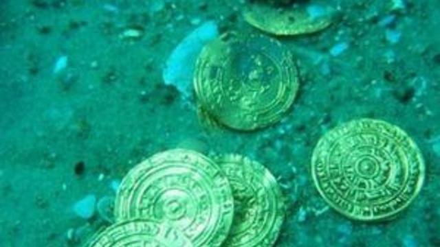 Akdeniz açıklarında hazine bulundu