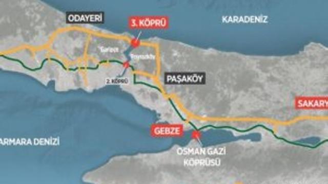 Kuzey Marmara Otoyolu'nun geçiş ücreti ne kadar olacak ?