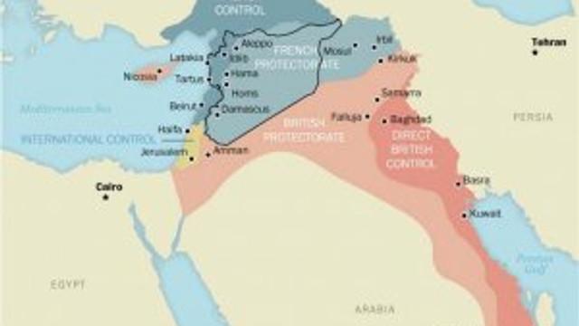 'Sykes-Picot anlaşmasına tek engel Türkiye'