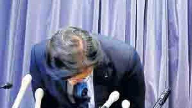 Skandalın ardından başkan görevi bıraktı