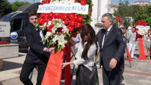 Büyükçekmece'de 19 Mayıs'a yakışan tören