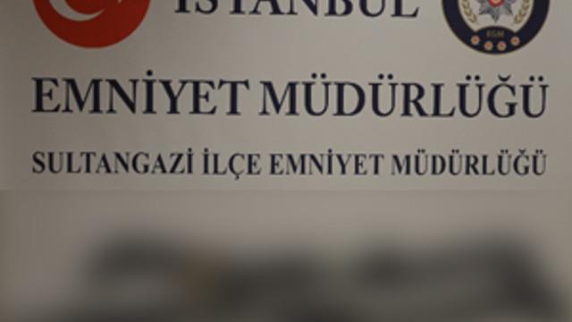 Sultangazi'de bir çuval cephane bulundu !
