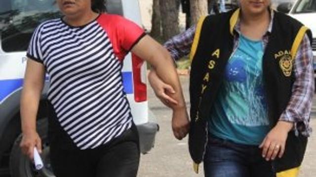 Fuhuştan yakalan kadın polise beddua etti