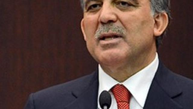 Abdullah Gül: ''Türkiye'nin daha fazla tahammülü yok''