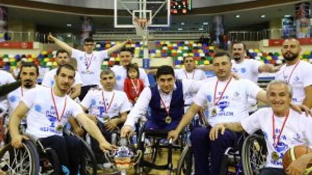 Bağcılarlı engelli basketbolcular Süper Lig'de