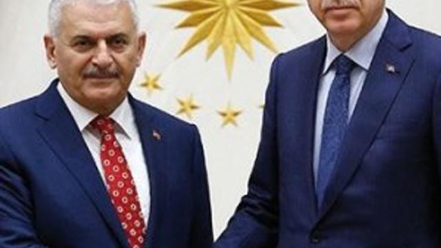 Erdoğan ve Yıldırım'dan gece yarısı zirvesi !