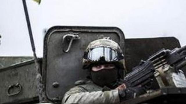 Ukraynalı askerlere saldırı