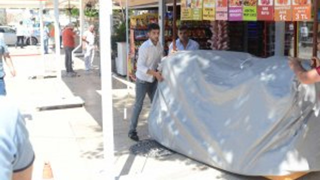 Yat Limanı'ndaki işgaller ve izinsiz ilaveler kaldırıldı