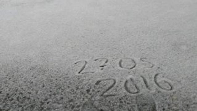 Mayıs ayında kar yağdı !