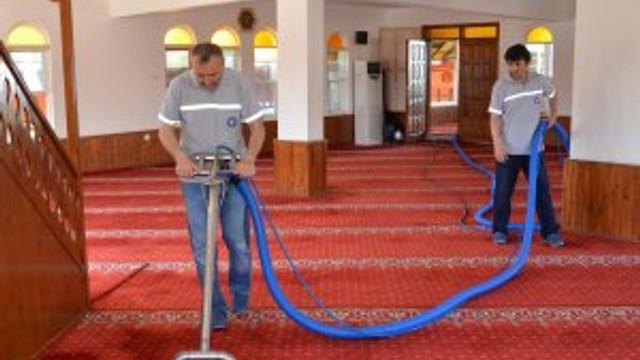 Büyükşehir camileri Ramazan'a hazırlıyor