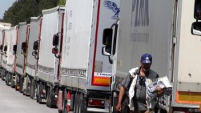 Türkiye'den Rus TIR sürücülerine vize zorunluluğu