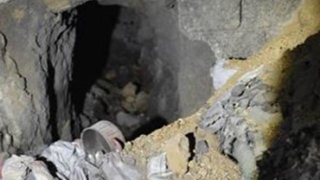 PKK'nın tünelleri görüntülendi !