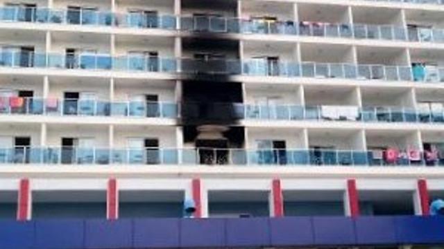 Otel yangınında gözaltı var !